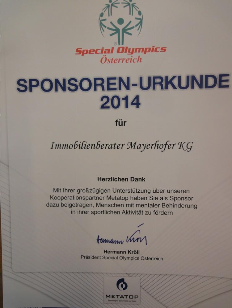 20 Jahre Special Olympics Österreich | Der Immobilienberater